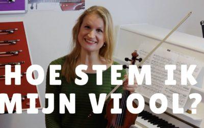 [Video] Hoe stem ik mijn viool?