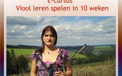 [Aanbod] Maak voordelig en flexibel kennis met de basis van het (alt)viool spelen!