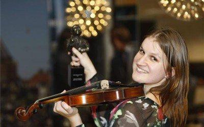 [persbericht] Violiste Zlata Brouwer is Ondernemer van het Jaar 2011