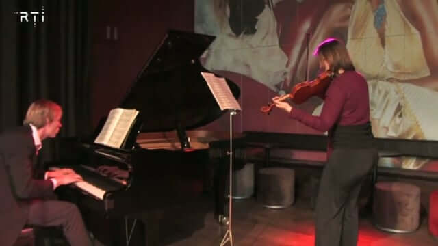 Zlata's piano-viool duo kwam op televisie