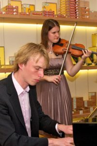 Guest performance Roaring Duo @ Casa del Habano Amsterdam