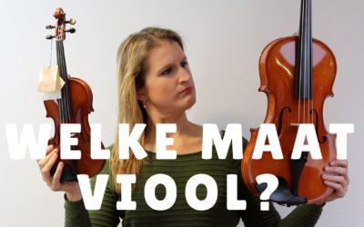 [Video] Welke maat viool of altviool heb je nodig? (voor je kind of jezelf)