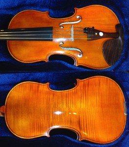 Tsjechische viool 4:4 1873