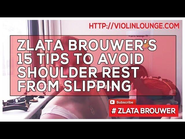 [Artikel] 15 Tips om je schoudersteun te laten stoppen met slippen