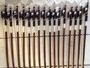 nieuwe tsjechische strijkstokken viool en altviool