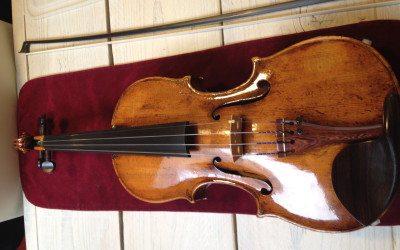 [Column] Mijn nieuwe oude Duitse viool en het mooie verhaal erachter