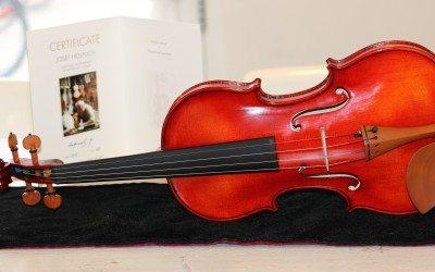 [Aanbod] Concertviolen van Tsjechische vioolbouwers