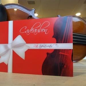Cadeaubon violist viool