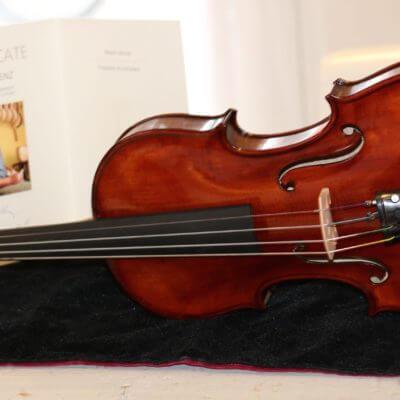Tsjechische viool vioolbouwer