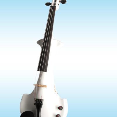 bridge aquila elektrische viool wit