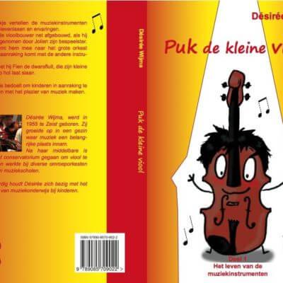 Puk de kleine viool boek Desiree Wijma