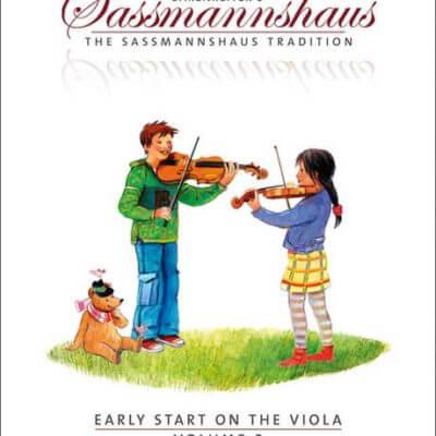 Sassmanshaus 3 altviool boek