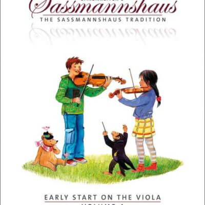 Sassmanshaus 4 altviool boek
