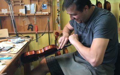 Hoe wordt een viool gebouwd?