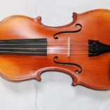 Roemeense viool Genova voorkant