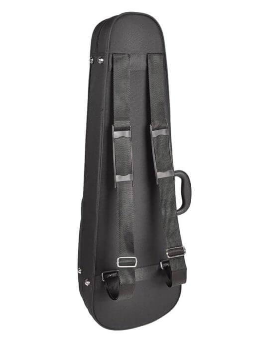 zwarte vioolkoffer achterkant