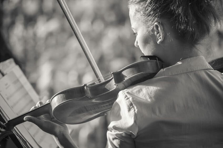 viool oefenen