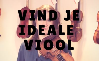 [Video] Vind je ideale viool!