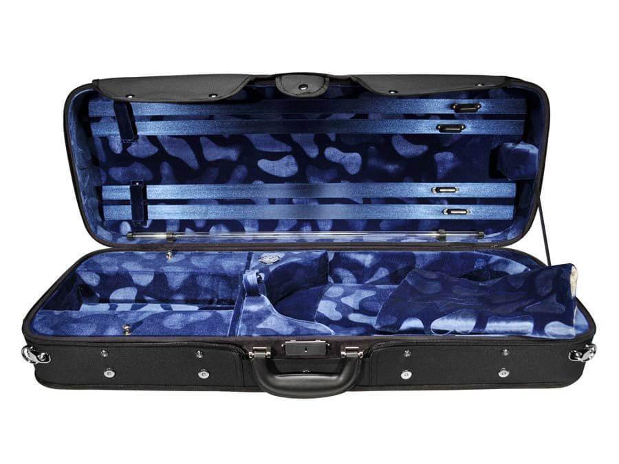 altviool koffer blauw