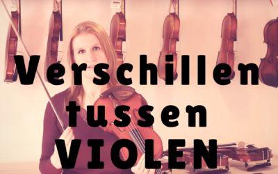 [Video] Wat zijn de verschillen tussen violen? Demonstratie en advies…