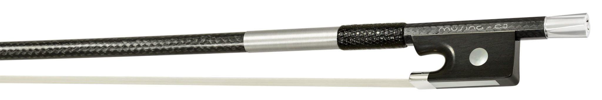 Müsing carbon fiber vioolstrijkstok C3