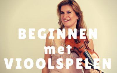 [Video] Beginnen met vioolspelen