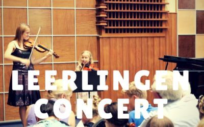 [Video] Leerlingenconcert 9 juli 2017