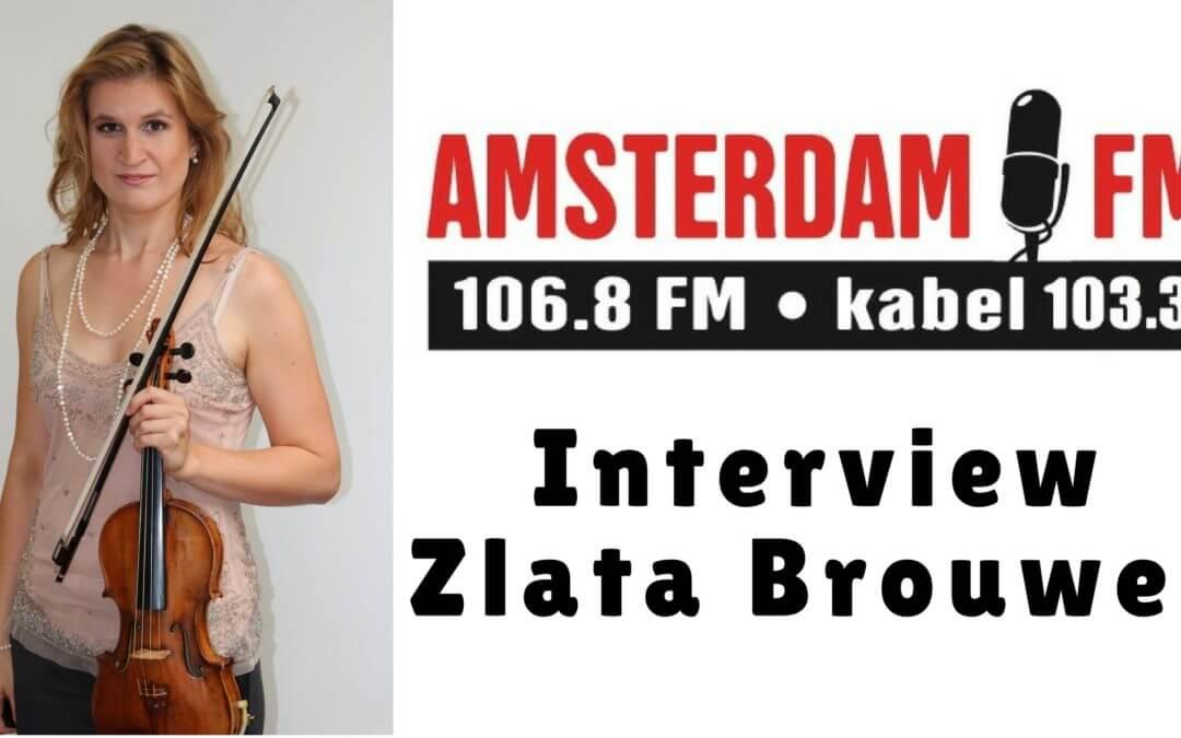 zlata brouwer bij amsterdam FM