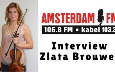 Interview met Zlata Brouwer bij Amsterdam FM