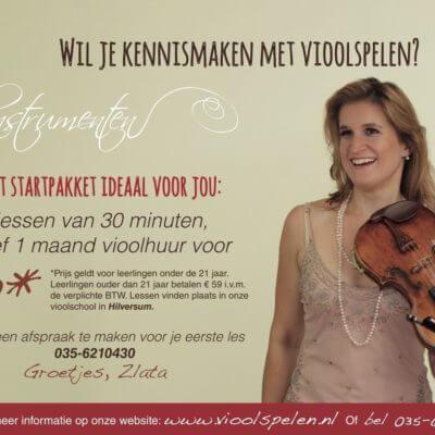 proefles vioolspelen