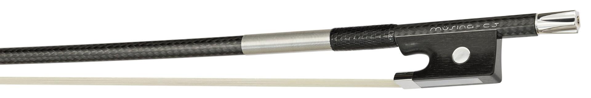 Müsing strijkstok C5 carbon vioolstrijkstok