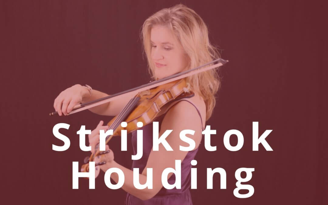 [Video] Beginnen met vioolspelen: Zo hou je je strijkstok vast