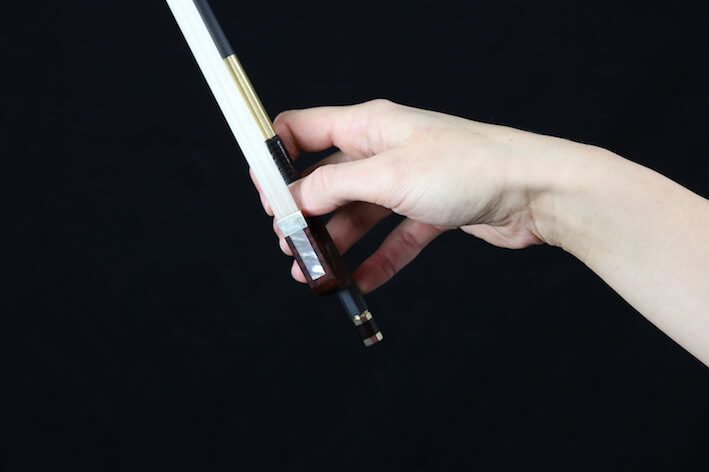strijkstokhouding viool