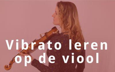 [Video] Vibrato leren op de viool in 5 stappen
