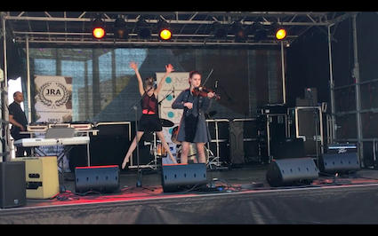 [Video] Leerling Sylvana speelde op het bevrijdingsfestival in Almere