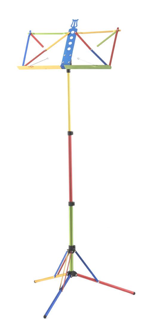 lichtgewicht muziekstandaard regenboog
