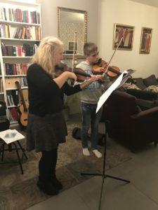 duitse viool klant