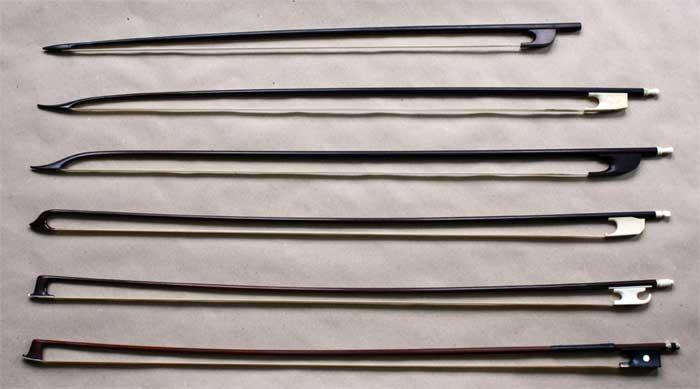 Geschiedenis van de strijkstok