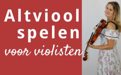 Leer altviool spelen als violist