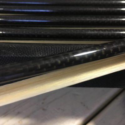 B-stock zlata carbon viool strijkstok