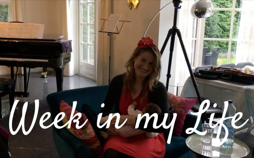 [Video] Bekijk een week in mijn leven als tweelingmoeder, professioneel violiste en online ondernemer