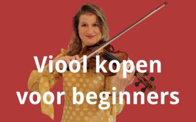 Viool kopen voor beginners: welke is het beste en waar let je op?